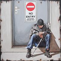 No Entry (Private Collection of CIGI (Centre for International Governance Innovation))